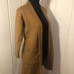 Forever 21 Sweaters - 🧸Long Brown Cardigan🧸